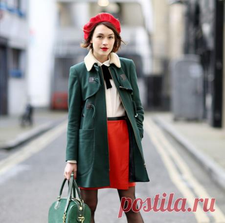 Как носить берет с короткой стрижкой | Style-avenue