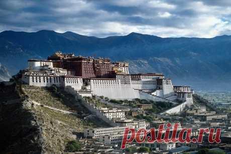 Так выглядит резиденция Далай-Ламы – Дворец Потала - Путешествуем вместе