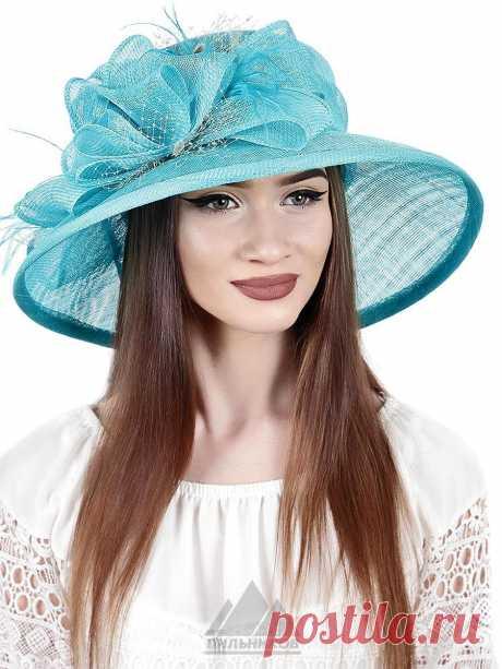 Шляпа Келли - Женские шапки - Из соломки купить по цене 3390 р. с доставкой в Интернет магазине Пильников