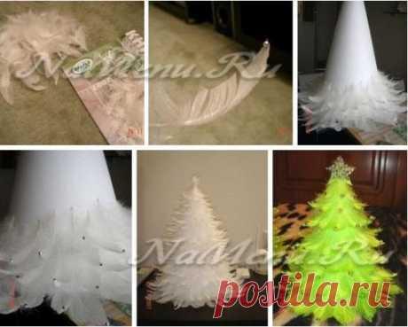 Новогодняя елка своими руками: фото-идеи, 100 мастер-классов
