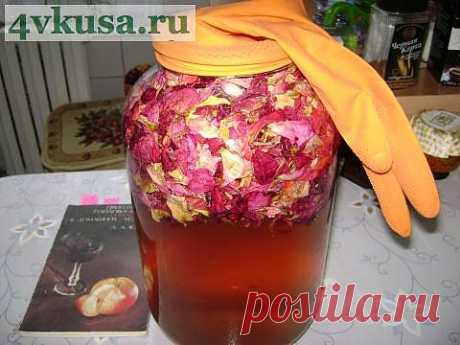 Вино из роз | 4vkusa.ru