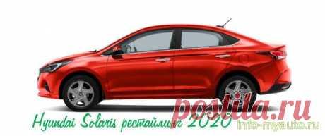 Сигнализация на Hyundai Solaris 2020 рестайлинг