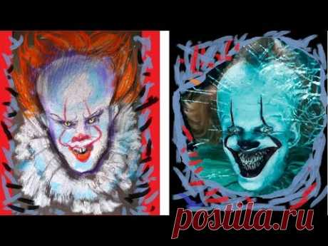 Drawing Pennywise Dancing Clown| IDraw for YOU❀❤❀