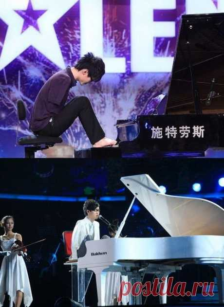 Вам все еще что-то мешает достигать результатов? Безрукий пианист Лю Вей выиграл в телешоу «Китай ищет таланты»