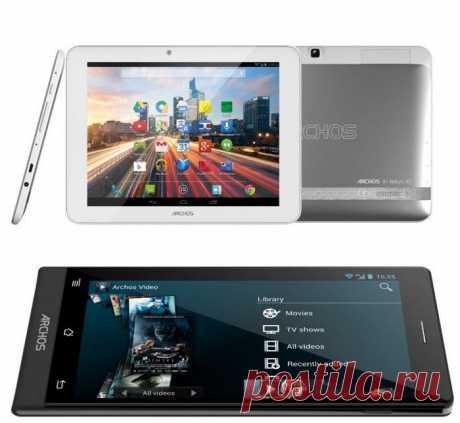 Archos показала самый дешевый 8'' планшет с поддержкой 4G и несколько смартфонов / Новости hardware / 3DNews - Daily Digital Digest