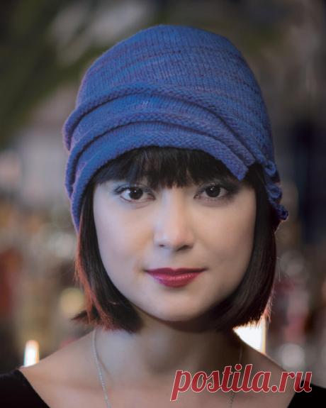 Шляпка вязаная спицами | ДОМОСЕДКА