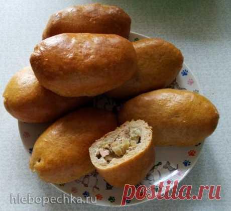 Пироги с горбушей различным манером - Хлебопечка.ру