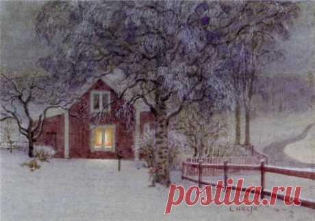 Коллекция работ шведского художника Lennart Helje