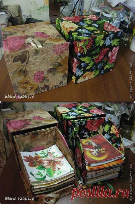 Коробочка для хранения салфеток (МК) / Картинки для декупажа / PassionForum - мастер-классы по рукоделию
