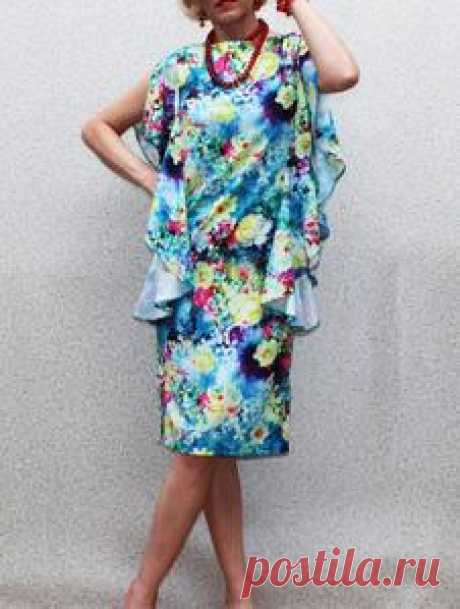 """""""Frances"""" Floral Spring Dress by Band of Tailors"""