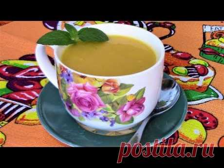 ¡La sopa tierna del puré de la calabaza - tal sabroso que todos piden todavía las añadiduras!