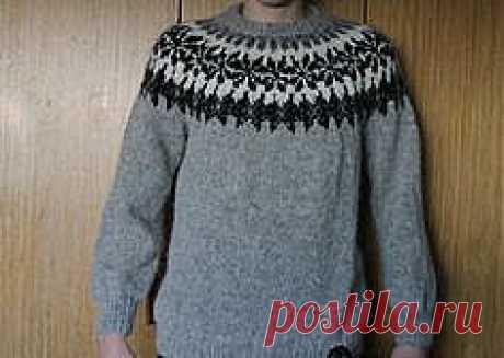 Традиционный Исландский свитер