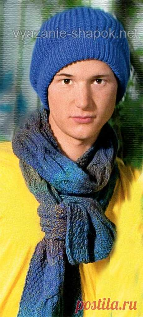 Вязаные зимние шапки | ВЯЗАНИЕ ШАПОК: женские шапки спицами и крючком, мужские и детские шапки, вязаные сумки | Страница 9