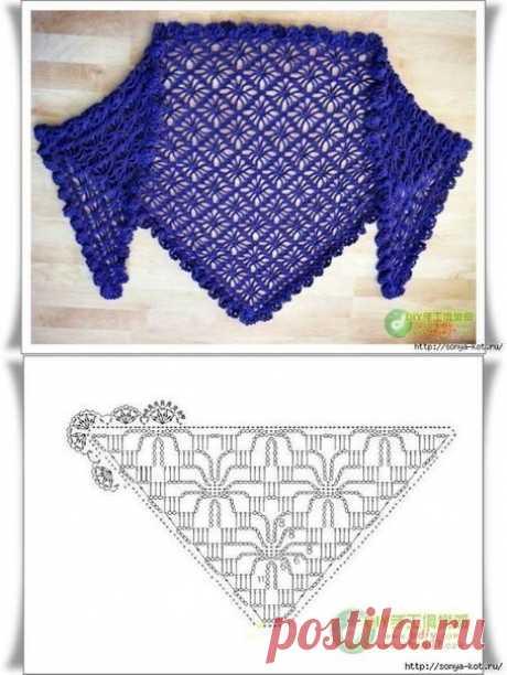 Selection of shawls hook.