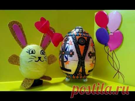 Пасхальные Яйца Расписать к Пасхе с Детьми🐰украшение яиц🐰 Подарки Пасхальные Поделки своими руками