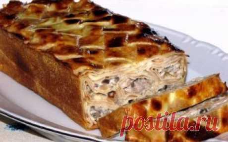 Восхитительная закуска из блинов с вкусной начинкой. Вкусное, простое и сытное блюдо!