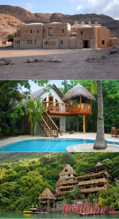 Ближе к природе: 6 лучших экоотелей в мире на «Тонкостях туризма»