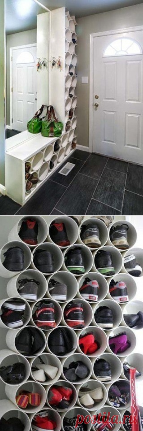 Non-standard storage of footwear