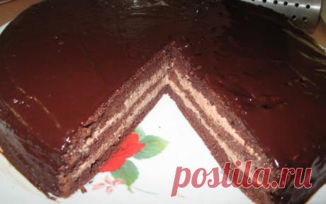 """Вкуснейший торт """"Прага по-домашнему"""""""