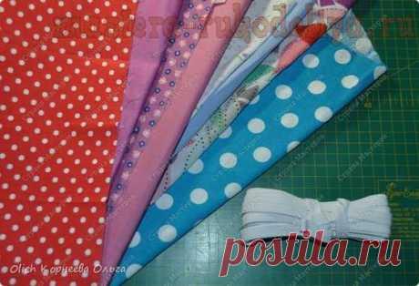 Мастер-класс по шитью: Тканевые резинки для волос