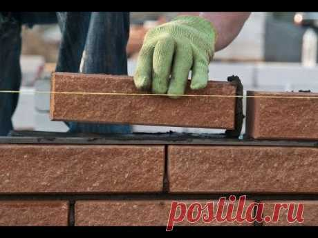 Bricklaying the hands