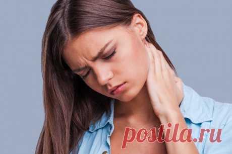 Спасительные упражнения при болях в шее