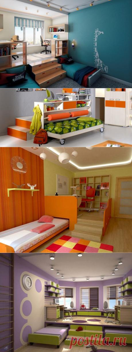 Кровать-подиум своими руками: процесс сборки с фото | В темпі життя