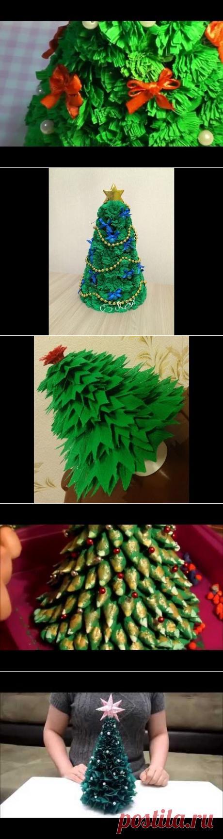 Елочка своими руками. DIY Новогодние поделки - YouTube