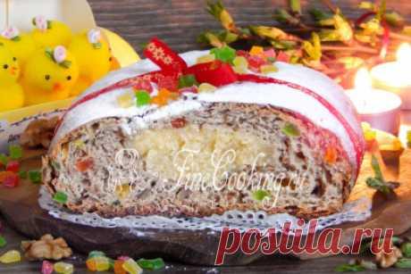 Паасброд - голландский пасхальный хлеб - рецепт