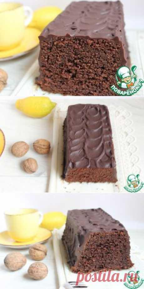 Шоколадный кекс на минералке - кулинарный рецепт