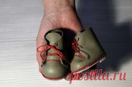 Мастер-класс «Обувь для куклы» | Журнал Ярмарки Мастеров