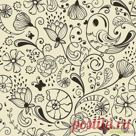 Background for scrapbooking white