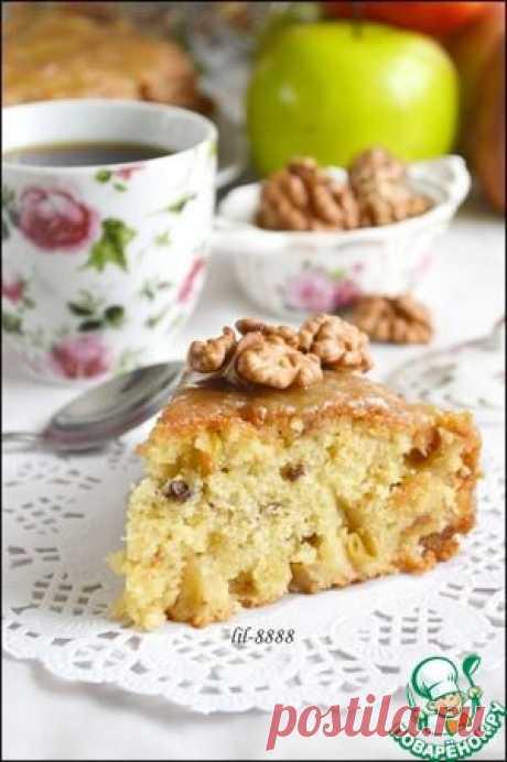 Яблочный пирог из Британской Колумбии - кулинарный рецепт