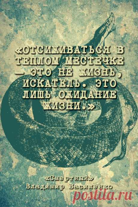 Смертный — Владимир Василенко #Цитаты