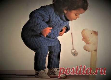 Тёплый свитер с леггинсами для малышки своими руками. | Идеи рукоделия | Яндекс Дзен