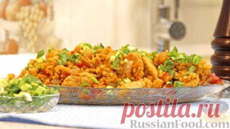 Рецепт: Булгур с курицей и овощами на RussianFood.com