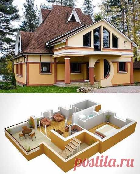 Строительство коттеджей - как построить дом красиво и дешево?