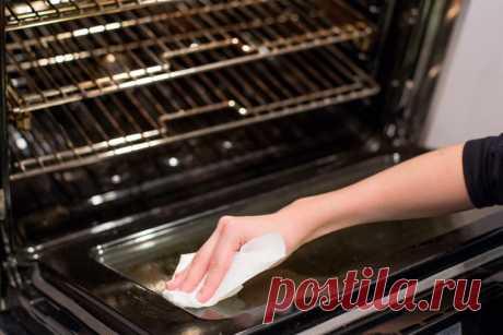 Эффективная чистка духовки