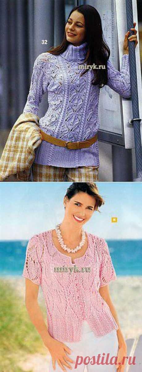 Вязание женские модели - Part 149