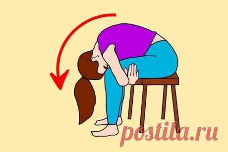 3 ПРОСТЕЙШИХ УПРАЖНЕНИЯ СИДЯ НА СТУЛЕ ДЛЯ ВОССТАНОВЛЕНИЯ РАБОТЫ КИШЕЧНИКА  Упражнения представленные в данной статье, в первую очередь предназначены для людей старше 40 лет. Они очень простые, в особенности потому что выполняются сидя на стуле. Идеально подходят для тех, у кого сидячая работа и нет времени даже на короткую тренировку, а также тем, кому сложно даются упражнения, в длительном стоячем положении Показать полностью...