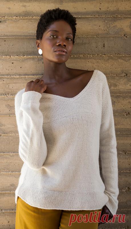 Вязаный пуловер Hvide | ДОМОСЕДКА