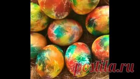 Вот такой дизайн яичек, очень красиво и необычно