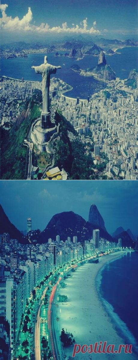 Рио Де Жанейро, Бразилия. - Путешествуем вместе