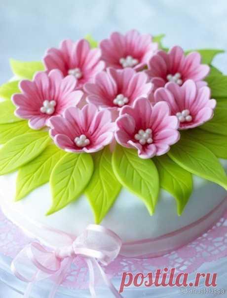 Las flores de la almáciga