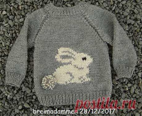 Ravelry: Sweet Bunny Sweater by de breimadammen
