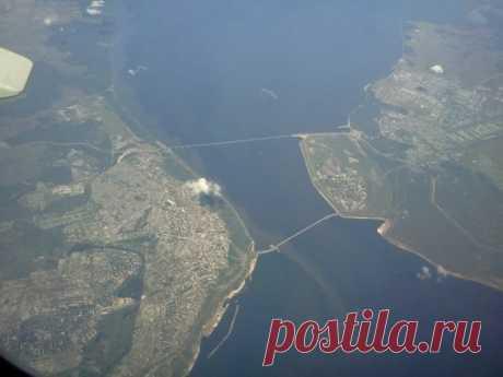 Ульяновск с самолёта