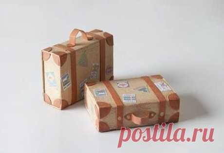 Чемоданчик из спичечных коробков — Поделки с детьми