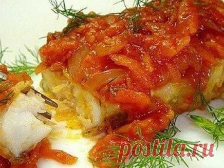 Морская рыба по-гречески - простой и вкусный рецепт с пошаговыми фото