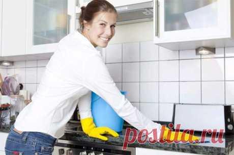Уборка кухни | Хитрости Жизни