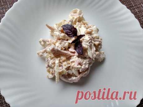 Кальмар с булгуром – салат просто объедение (готовлю из года в год, и вкуснее салата из кальмаров не знаю) - Пир во время езды